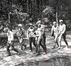 Photo: Norg 1964 Thiea Beening, Aaltje Nijhof, Jannie Wilms, Marchie Mennega, Jannie Vedder, Gine Lanjouw, Jannie Schiphouwer