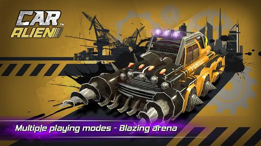 Car Alien - 3vs3 Battle screenshot 11