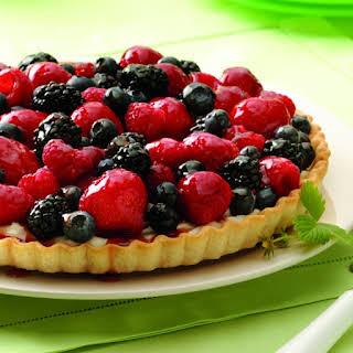 Mixed Berry Tart.