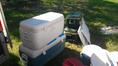 Photo: Ice chests