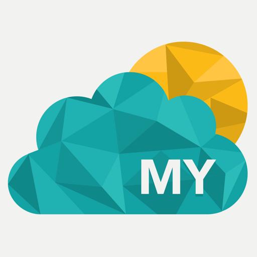 馬來西亞氣象預報,引導旅客。 天氣 App LOGO-硬是要APP