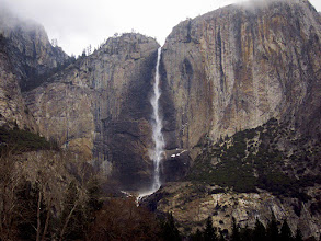 Photo: Last view from Valley-tour bus - Yosemite Falls, Day 1. #3508