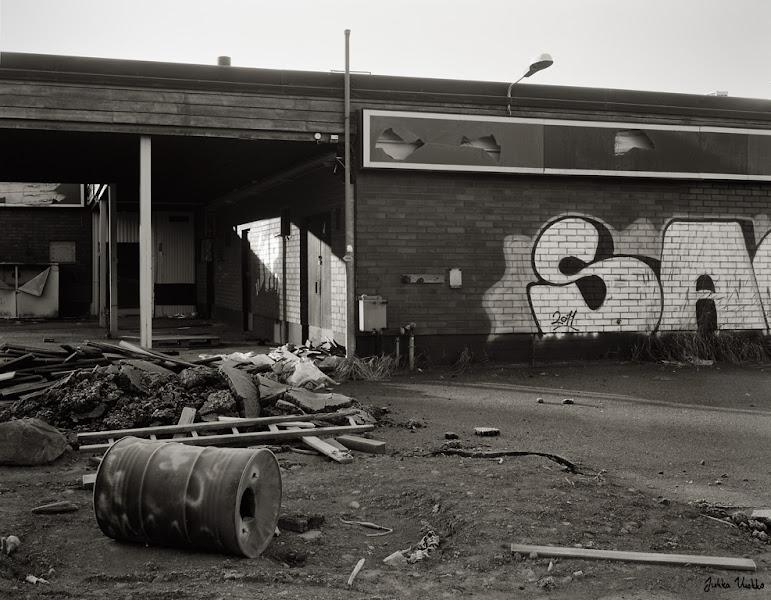 Photo: Abandoned Esso