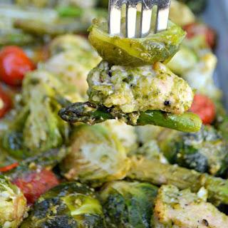 You'Ve Gotta Try This One-Pan Keto Chicken Pesto and Veggies Recipe! Recipe