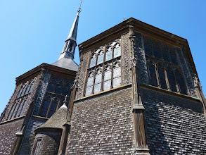 Photo: L'église Sainte-Catherine à Honfleur (2010).