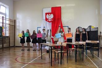 Photo: Zakończenie roku szkolnego klas I-II część artystyczna