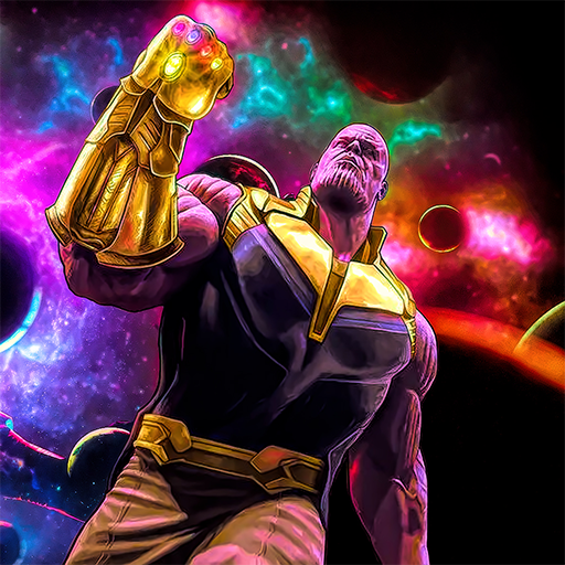 Super Monster Thanos Battle - City Fighting Game
