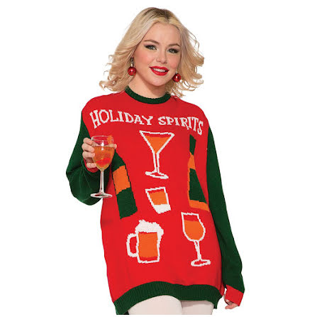 Jultröja, holiday spirits M