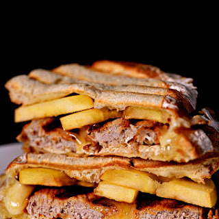 Pork Loin Apple Brie Panini.