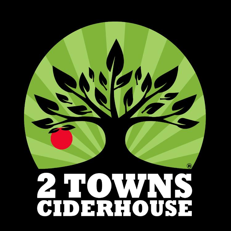 Image result for 2 towns cider