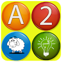 abc alphabet and test games icon