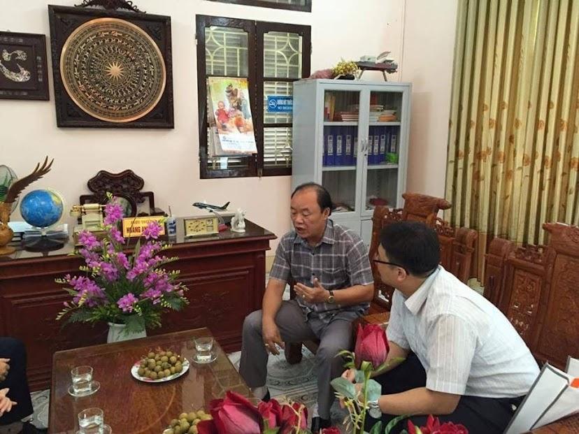 ICC Hà Nội cùng dại diện trường Busan