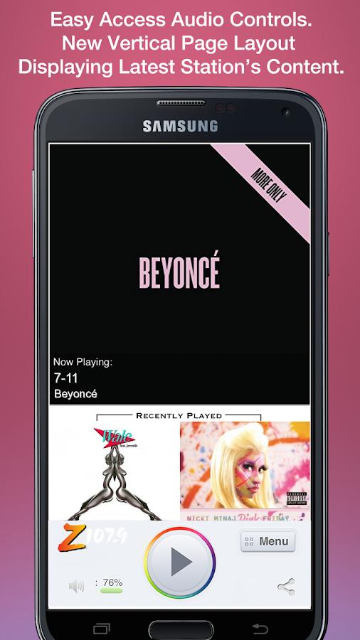 Z 107.9 - screenshot