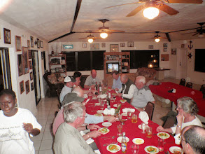 Photo: Supper for the MRO Spring 2011 group