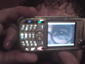 Photo: Mijn oog via gsm