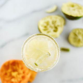 Coconut & Tangerine LaCroix Margarita