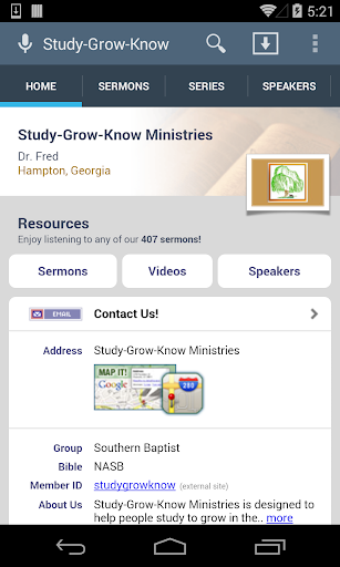 Study-Grow-Know Ministries