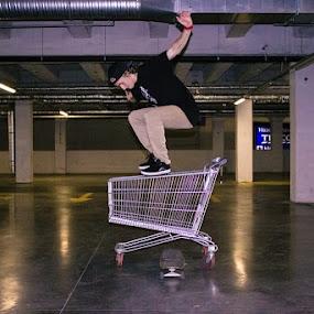 Hippi jump by Pete Jones - Sports & Fitness Skateboarding