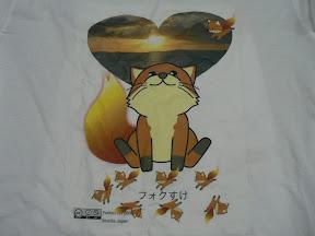 フォクすけTシャツ