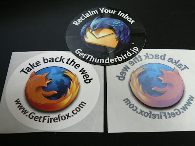 Firefox & Thunderbird ステッカー