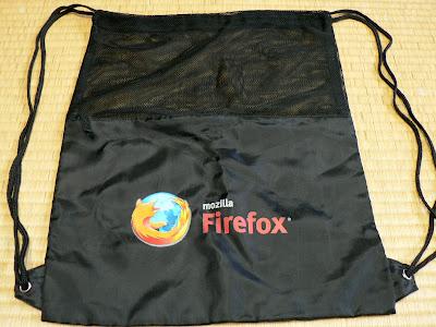 Firefox バックパック