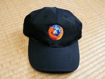 Firefox 野球帽