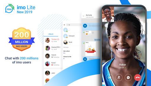 imo Lite - New2019 Superfast Free calls & just 4MB 9.8.000000012517 screenshots n 1