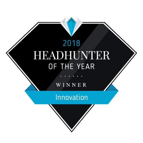 Headhunter of the Year Award 2018 - Winner Innovation