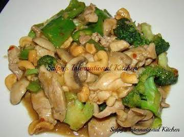 Cashew chicken (Original recipe by Salpy's Interna