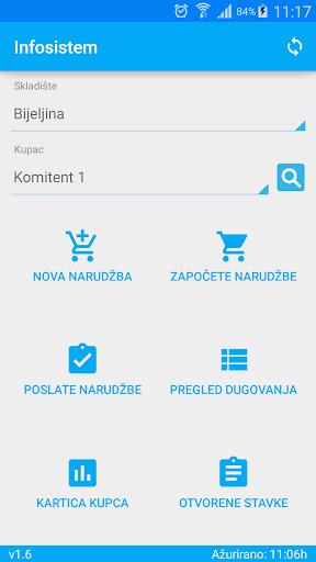 Infosistem Demo