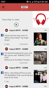 Impact 89FM Screenshot