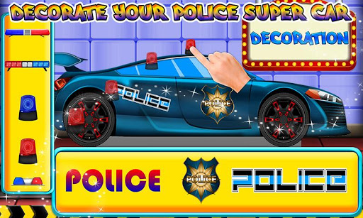 Police Multi Car Wash: Design Truck Repair Game 1.0 7