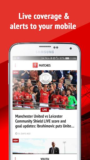 玩免費運動APP|下載Manchester United News app不用錢|硬是要APP