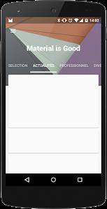 MaterialViewPager screenshot 1