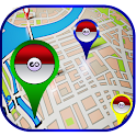 Guide Map for Pokemon Go Map icon