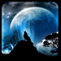Lune Fond d'écran animé
