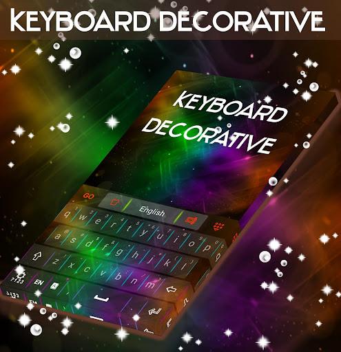 装飾的なキーボード