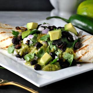 Breakfast Enchiladas With Poblano Cream [Vegan]