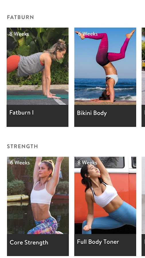 Asana Rebel - Yoga Inspired Fitness- screenshot