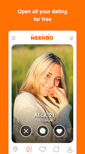 Neenbo - Meet New People. Date & Make Friends Screenshot