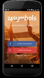 24symbols – online books Screenshot 1