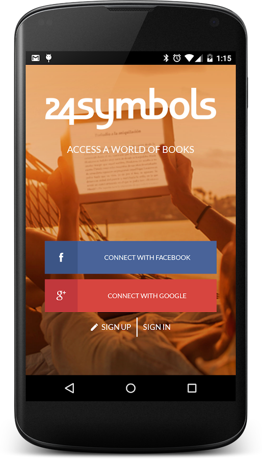 24symbols – online books - screenshot