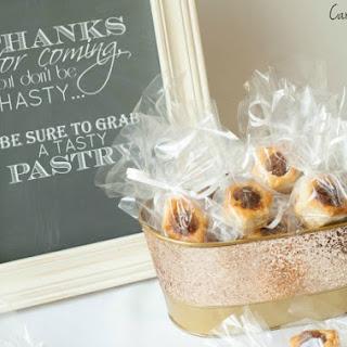 Pecan Pie Pastries with Pepperidge Farm Puff Pastry.