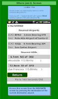 Screenshot of VFR+ GPS Airplane Navigation