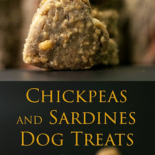 Chickpeas and Sardines Dog Treats