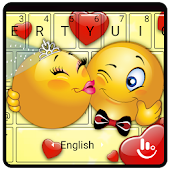 Cute Emoji Keyboard Theme