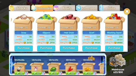 My Supermarket Story : Store tycoon Simulation Screenshot