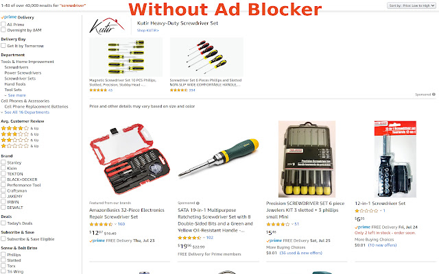 Amazon Ad Blocker