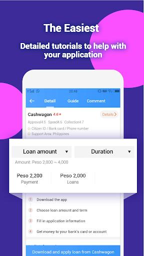Peso Expert - Find Safe and Fast Loans Applications (apk) téléchargement gratuit pour Android/PC/Windows screenshot