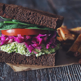 Edamame Mash Sandwiches →
